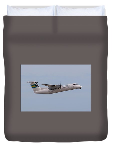 Bahamas Air Duvet Cover
