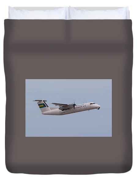 Bahamas Air Duvet Cover
