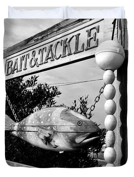 Bait And Tackle Duvet Cover by David Lee Thompson