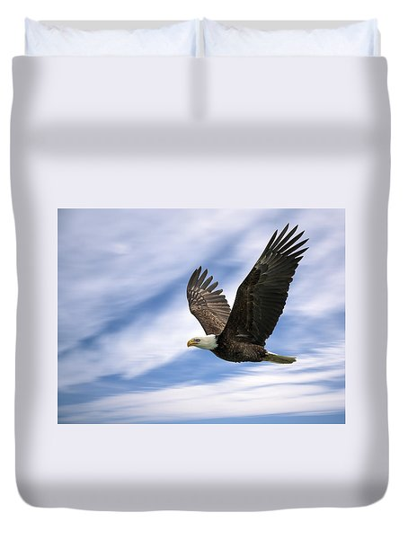 Bald Eagle - 365-12 Duvet Cover