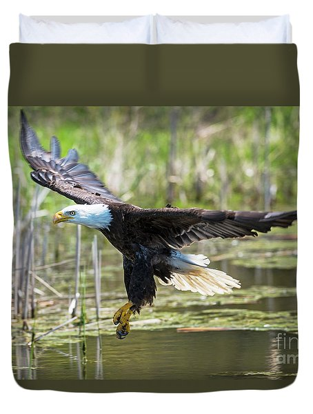 Bald Eagle-3175 Duvet Cover