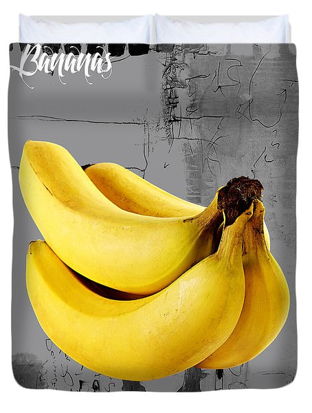 Banana Collection Duvet Cover by Marvin Blaine