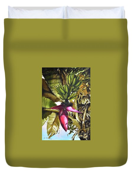 Banana Tree Duvet Cover