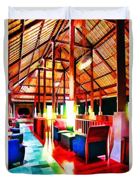 Bar Bedulu Duvet Cover by Lanjee Chee