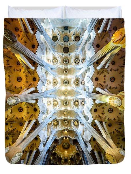 Basilica De La Sagrada Familia Duvet Cover