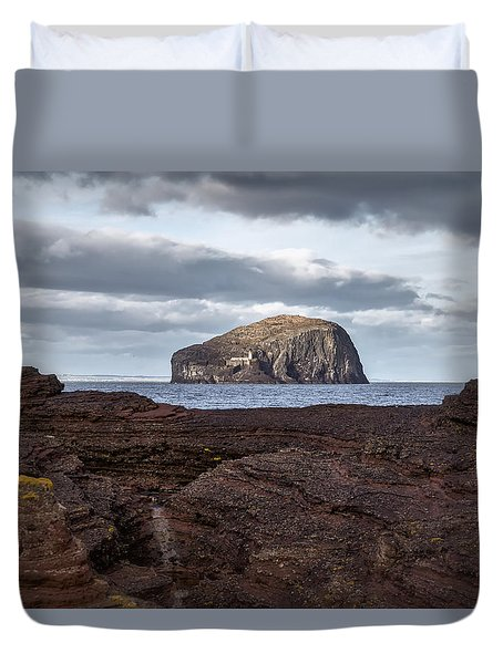 Bass Rock Duvet Cover
