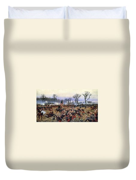 Battle Of Fredericksburg - To License For Professional Use Visit Granger.com Duvet Cover