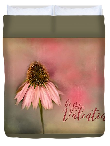 Be My Valentine Duvet Cover by Mary Timman