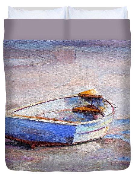 Beach Puddles Duvet Cover