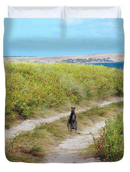 Beach Road Marsupial Duvet Cover