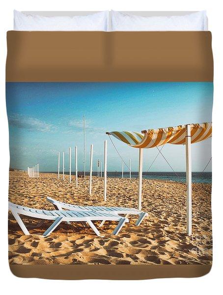 Beach Shader Duvet Cover