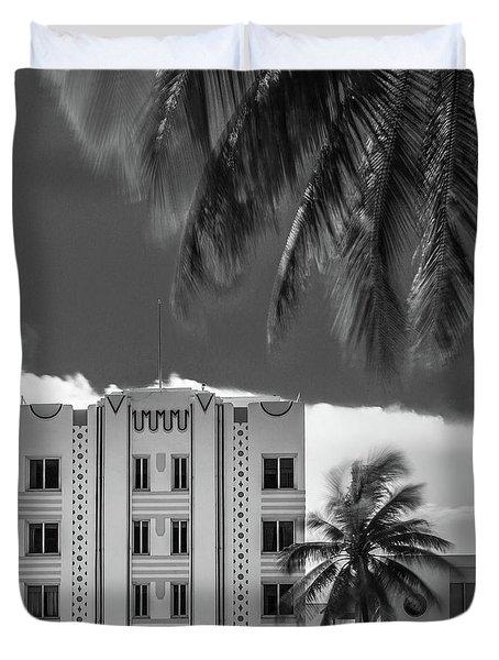 Beacon Hotel Miami Duvet Cover