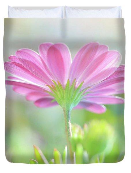 Beautiful Daisy Flower Duvet Cover