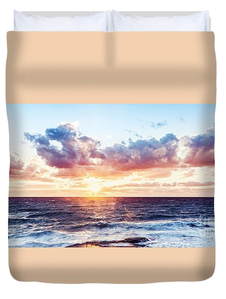 Beautiful Sea Landscape Duvet Cover