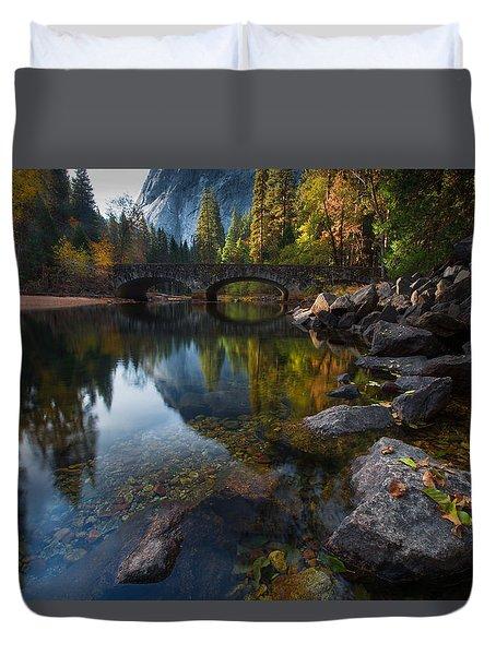 Beautiful Yosemite National Park Duvet Cover