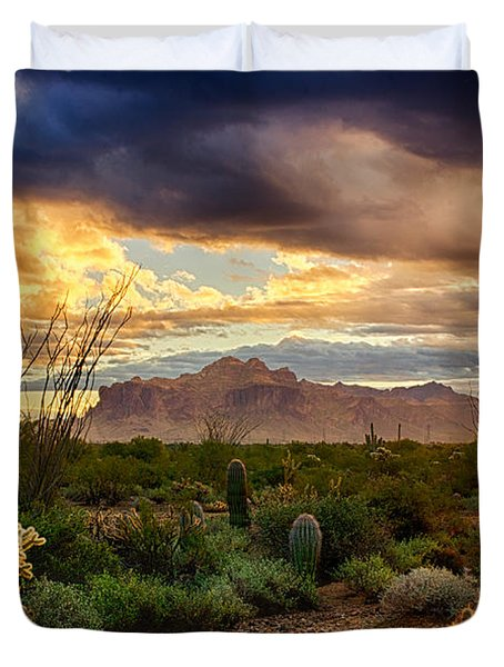 Beauty In The Desert Duvet Cover