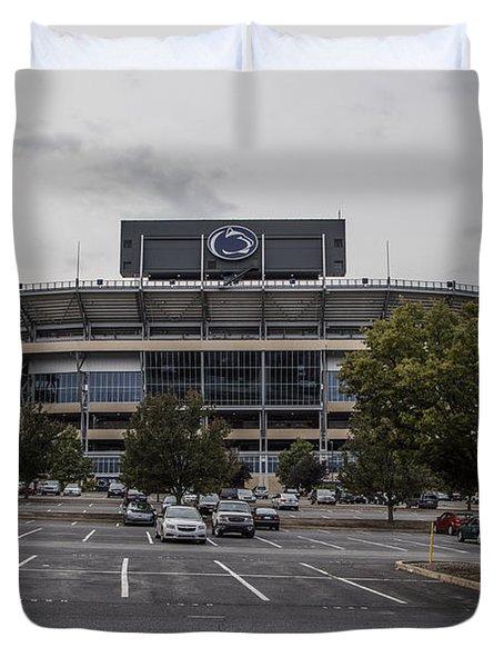 Beaver Stadium Penn State  Duvet Cover