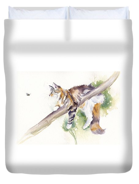 Bee High Duvet Cover
