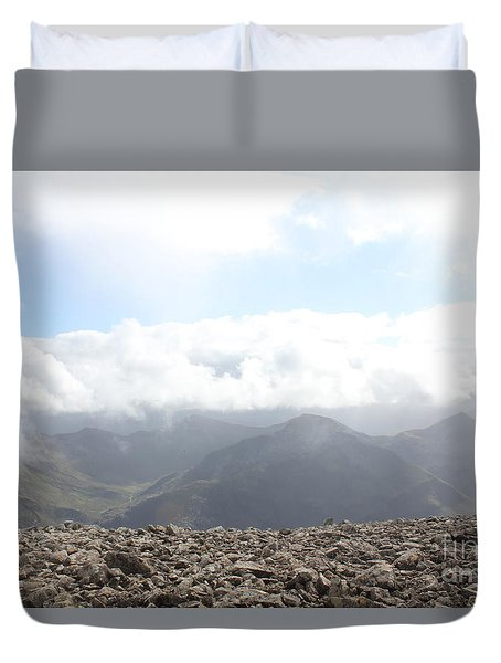Duvet Cover featuring the photograph Ben Nevis  by David Grant