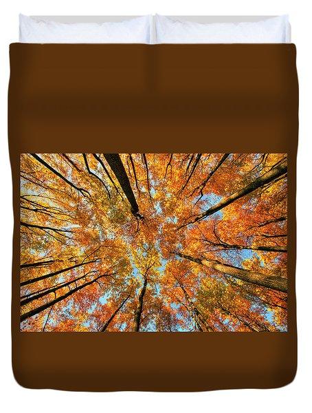 Beneath The Canopy Duvet Cover