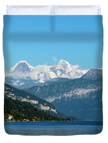 Bernese Oberland Duvet Cover