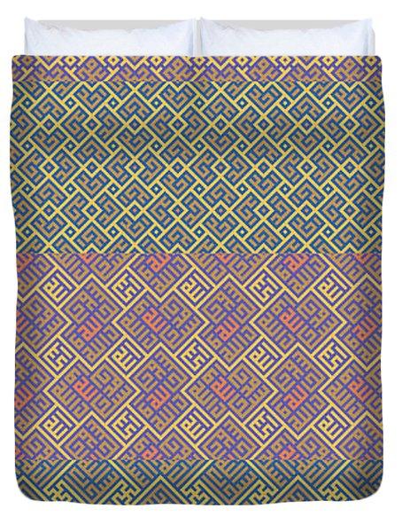 Bibi Khanum Ds Patterns No.9 Duvet Cover