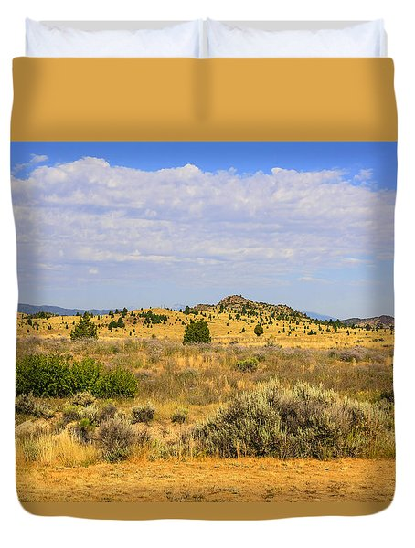 Big Sky Country Duvet Cover by Chris Smith
