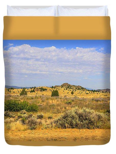 Big Sky Country Duvet Cover