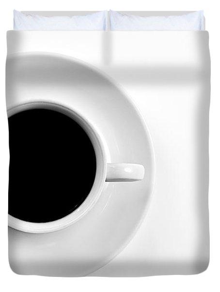 Black Coffee Duvet Cover by Gert Lavsen