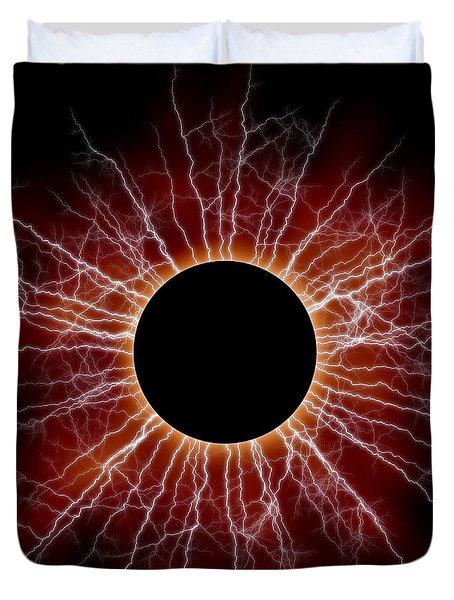 Black Star Duvet Cover by Michal Boubin