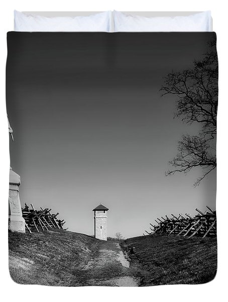 Bloody Lane - Antietam Duvet Cover