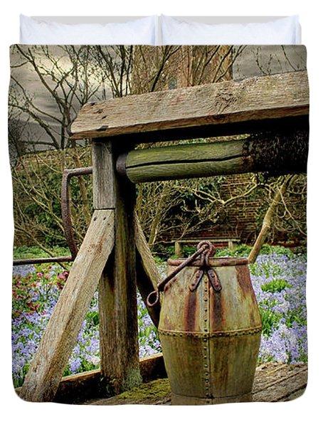 Bluebell Fields Duvet Cover