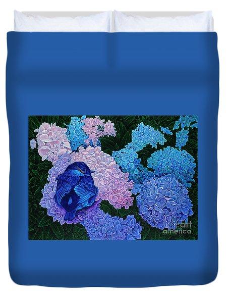 Bluebird Duvet Cover