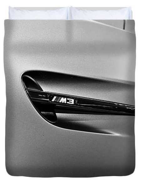 Duvet Cover featuring the photograph Bmw M3  by Aaron Berg