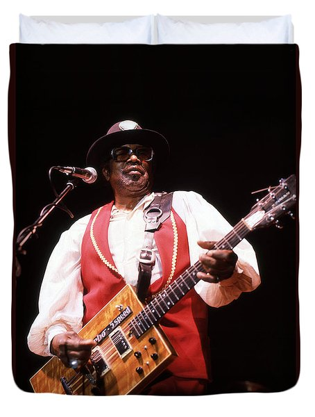 Bo Diddley Duvet Cover