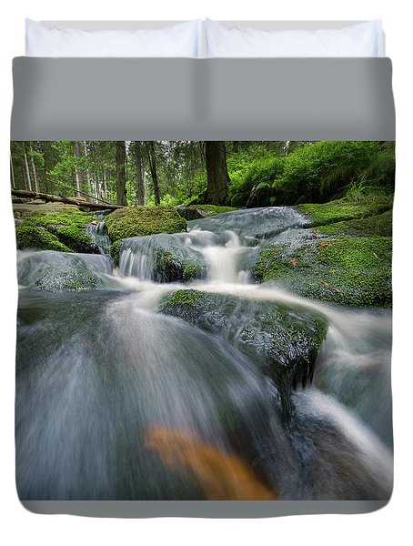 Bode, Harz Duvet Cover by Andreas Levi