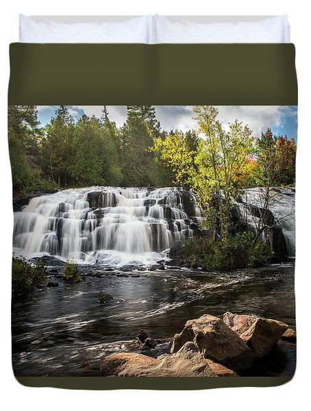 Bond Falls Duvet Cover