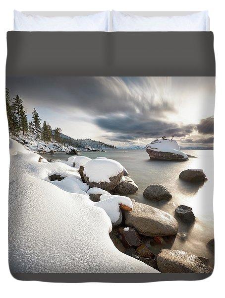 Bonsai Dream Duvet Cover by Scott Warner