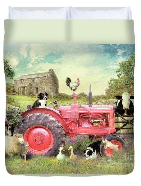 The Farmyard Duvet Cover