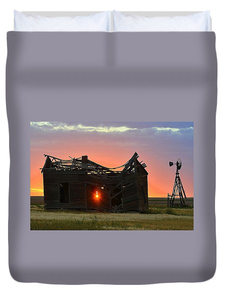 Born Again Duvet Cover by Clarice  Lakota
