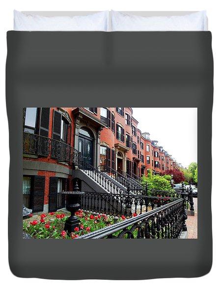 Boston's South End Duvet Cover