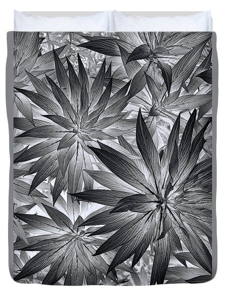 Duvet Cover featuring the photograph Botanical by Wayne Sherriff