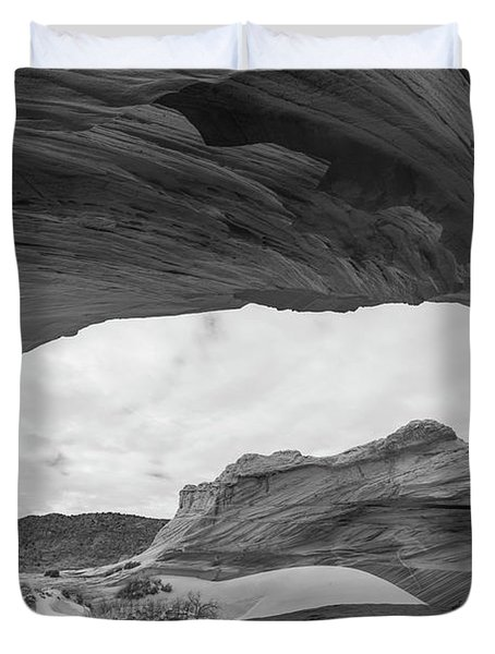 Duvet Cover featuring the photograph Boundless by Dustin  LeFevre