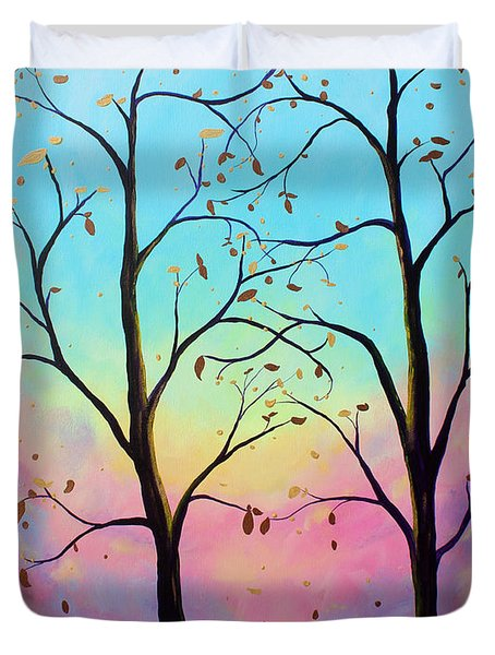 Branching Out Duvet Cover
