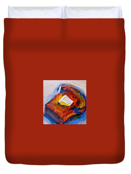 Bread And Butter Duvet Cover