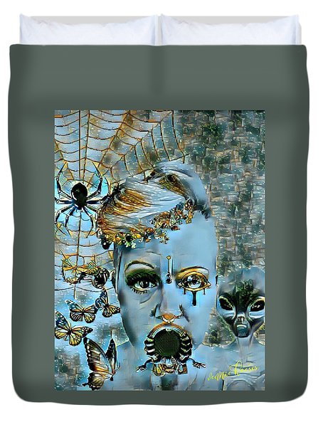 Break Free Duvet Cover by Vennie Kocsis