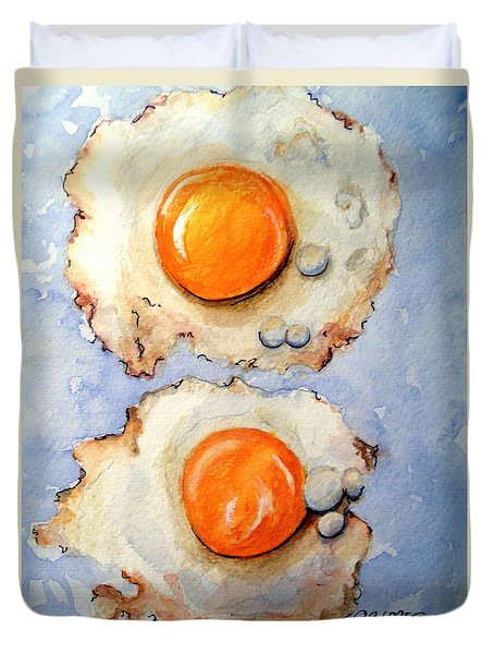 Breakfast Is Ready #2 Duvet Cover