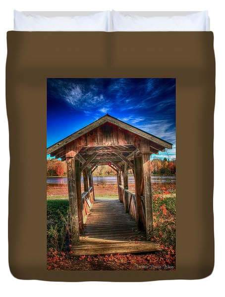 Bridge Duvet Cover