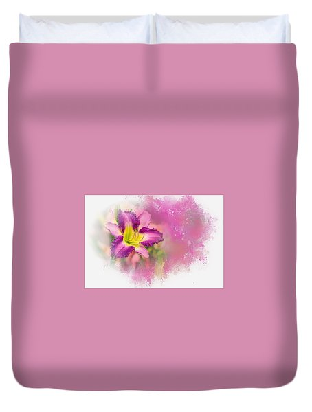 Bright Lily Duvet Cover