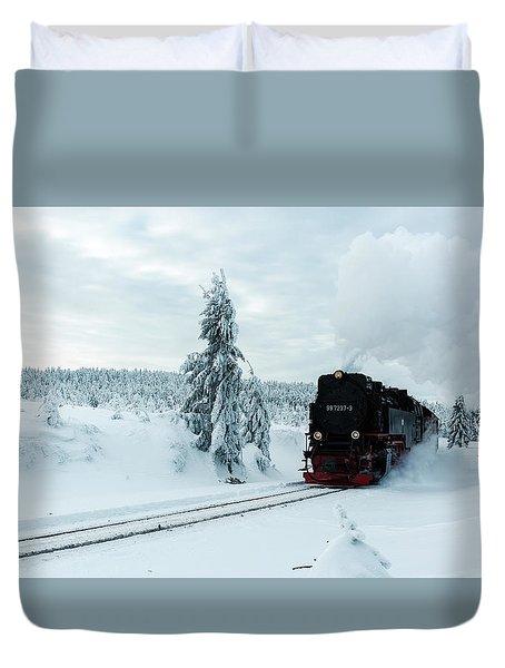 Brockenbahn, Harz Duvet Cover